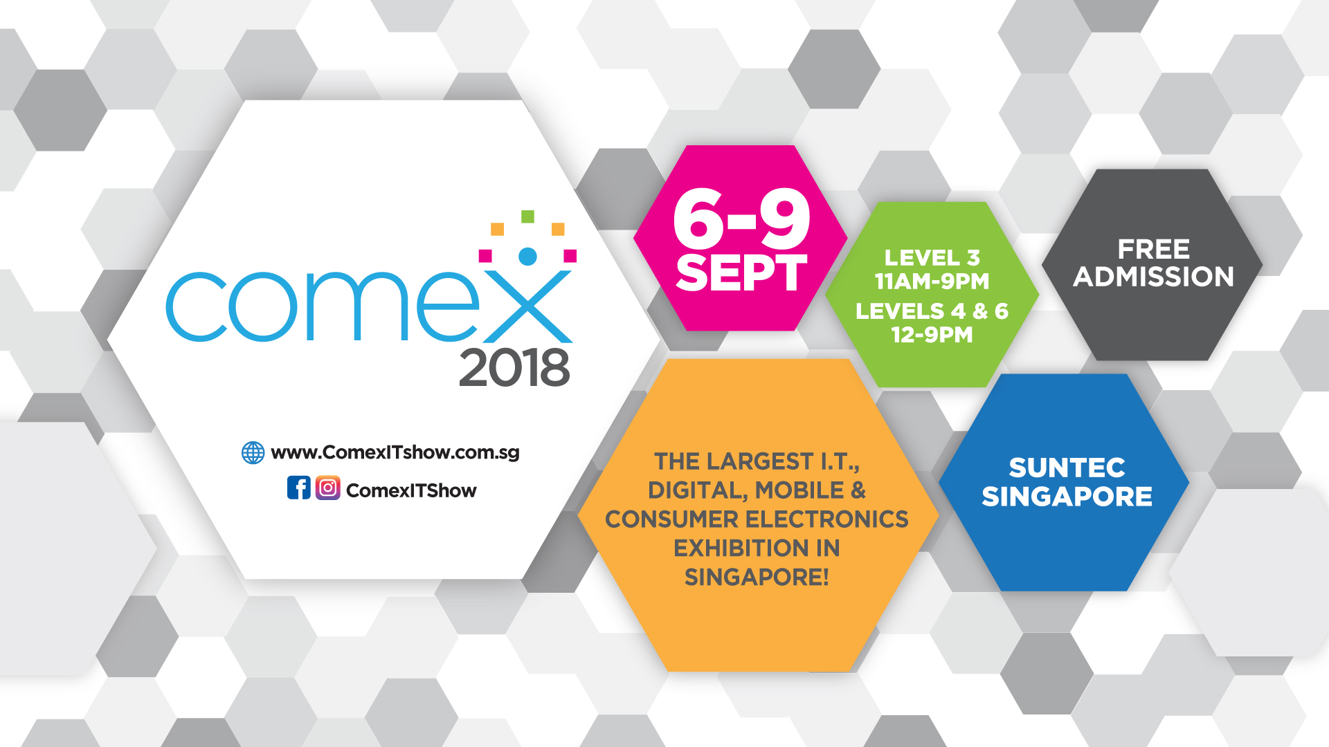 Image result for comex 2018