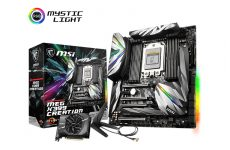 MSI's MEG X399 Creation is one fancy Threadripper motherboard (Updated with price)