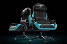 Enjoy a relaxing massage while gaming with the new Predator Gaming Chair X-OSIM