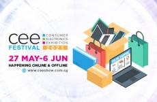 The Consumer Electronics Exhibition (CEE) Festival will be happening online and offline from May 27 to June 6 2021