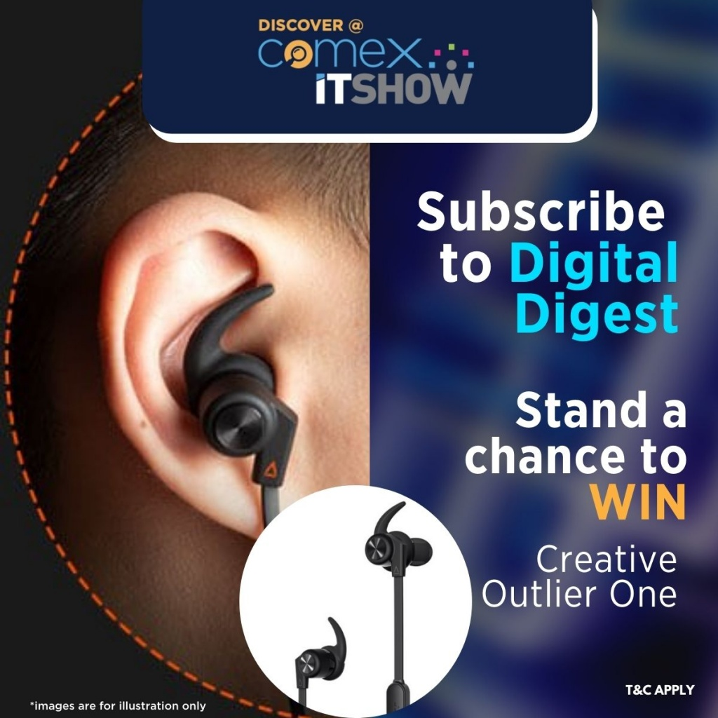 Subscribe for free and stand a chance to win a Creative Outlier One