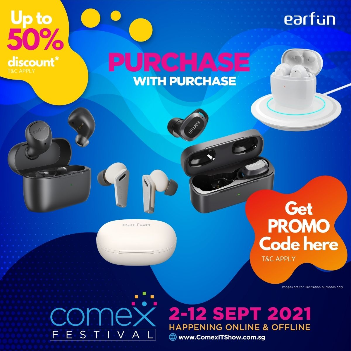 Earfun Purchase with Purchase (PwP) deals